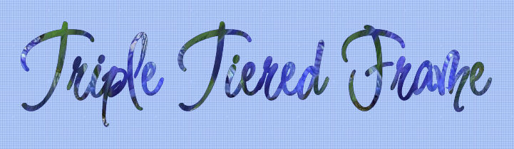 Triple Tiered Frame Logo